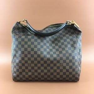 Preowned Louis Vuitton Damier Ebene Portobello GM